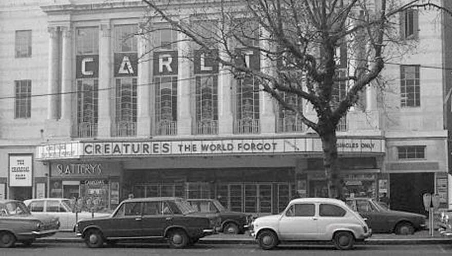 The Carlton cinema.