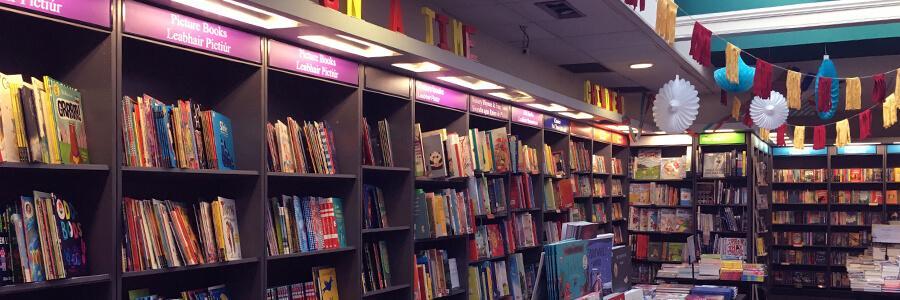 Hodges Figgis - Bookshelves