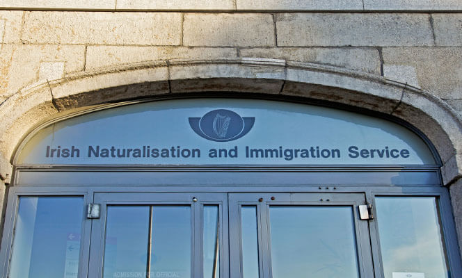 Irish Naturalisation & Immigration Services building