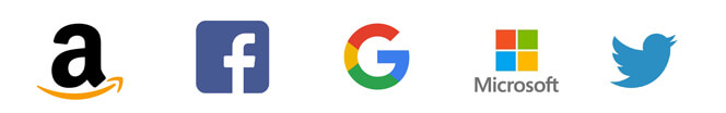global tech brand logos