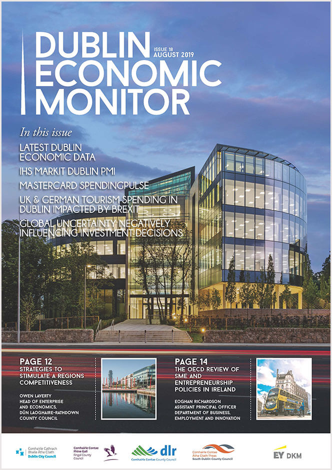 Dublin Economic Monitor cover Aug 19