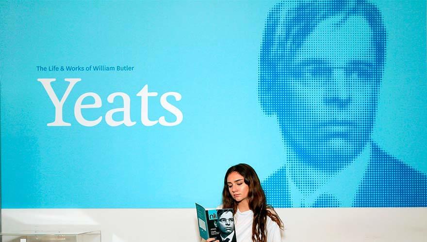 William Butler Yeats Display