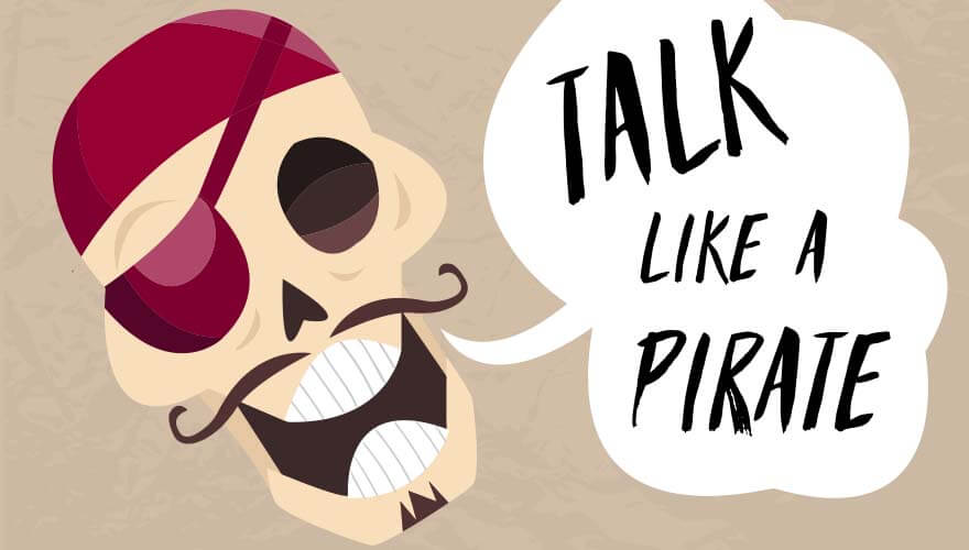 Pirate parlez graphic.