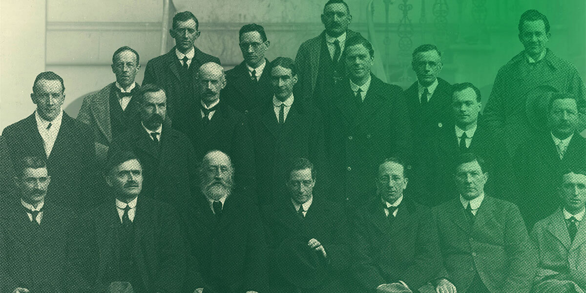 100 Year Anniversary of the First Dáil Éireann in the Mansion House