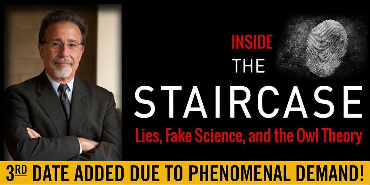 Inside The Staircase | An Evening with David Rudolf