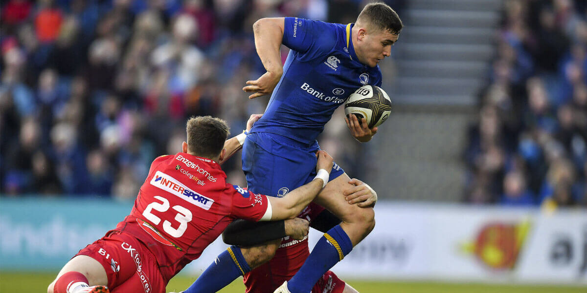 Guinness PRO14 Leinster Rugby vs Scarlets