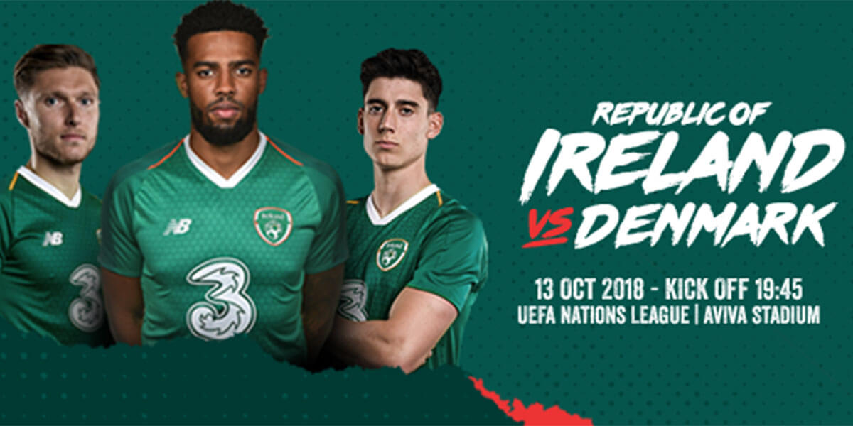 Republic of Ireland v Denmark